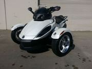2012 Can-Am Spyder RS SE5 Mileage: 12, 379